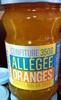 Confiture Oranges Allégée en sucres - Produit