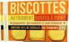 Biscottes au froment dorées à point - Produit