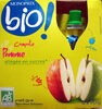 Compote Pomme allégée en sucres - Producto