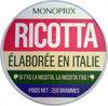 Ricotta - Produit
