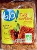 Toast Croustillant tomate et mozzarella Bio - Produit