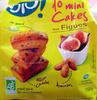 10 Mini Cakes aux Figues Bio - Prodotto