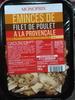 Emincés de filet de poulet à la provençale - Prodotto