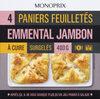 Paniers feuilletés emmental jambon - Produit