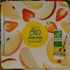 Purée de fruits pomme fraise - Product