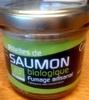 Rillettes de saumon biologique fumage artisanal - Produit