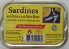 Sardines au citron et aux baies roses - Produit