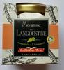 Mousse de Langoustine aromatisée à l'Armagnac - Produit