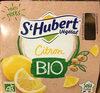 St Hubert Végétal Citron Bio - Product