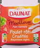 Le Moelleux Poulet rôti Crudités Mayonnaise légère - Produit