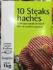 10 steaks hachés (20% MG) - Produit