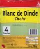 Blanc de Dinde Choix - Product