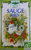 Tisanes de sauge bio - Romon Nature - Produit