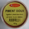 Piment doux 100 g - Produit