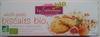 Biscuit bio müesli fruits - Produit