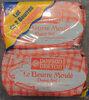 Lot de 2 Beurres moulés demi-sel - Produit