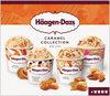 Mini pots crème glacée caramel collection - Produit