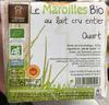Le Maroilles bio au lait cru entier Quart - Product