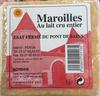Maroilles au lait cru entier (sorbais) - Product
