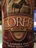 Bière Ambrée Goularz - Produit