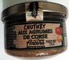 Chutney aux agrumes de corse - Product