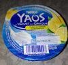 Yaos - Le yaourt à la Grecque pulpe de citron - Prodotto