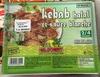 Kebab halal et sauce blanche - Surgelé - Produit