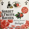 Sorbet 5 fruits rouges - Product