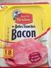 Les belles tranches Bacon - Prodotto