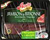 jambon de Bayonne les grandes tranches lot de 2 barquettes + 1 gratuite de 4 tranches - Prodotto