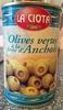 Olives vertes à la farce d'Anchois - Producto
