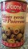 Olives vertes farcies aux poivrons - Product