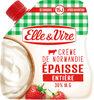 La Crème entière épaisse en poche de Normandie - Product