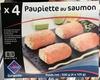 Paupiette au saumon surgelée - Produit