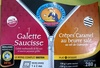 1 galettes saucisse 2 crêpes caramel au beurre salé - Product