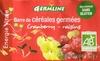 Barre de céréales germées cranberry et raisins bio - Product