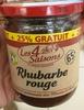 Rhubarbe rouge +25% GRATUIT - Prodotto