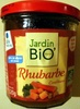 Jardin Bio' - Confiture Rhubarbe - Produit