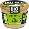 Rillettes de  porc bio - Product