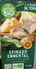 Steaks de Tofu aux épinards et à l'emmental Bio - Product