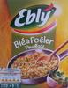 Blé à Poêler Persillade - Produit