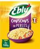 Couscous en perles Ebly 10 min 3 x 100 g - Produit