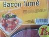 Gourmets de l'Artois Bacon fumé la barquette de 90 g - Produit