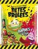 Têtes-brûlées Fraise Et Pomme Verquin, Sachet De - Produit
