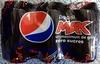 Pepsi Max (zéro sucres) - Product
