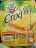 Croq'mie - Délice de dinde & fromage - Prodotto