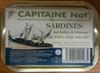 Sardines aux herbes de Provence et à l'huile d'olive vierge extra bio - Produit