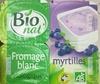 Fromage blanc Biologique Myrtilles - Produit