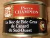 Le bloc de Foie Gras de Canard du Sud-Ouest - Product