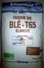 Farine de blé T65 blanche - Produit